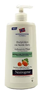 Neutrogena Nordic Berry Bodylotion, 1er Pack (1 x 400 ml)
