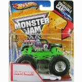 Hot Wheels Monster Jam 2013 Grave Digger 1:64 Scale Die Cast Vehicle
