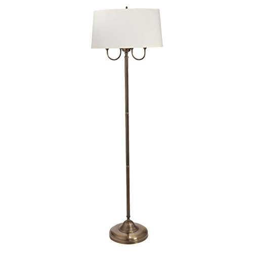 The Light Store Brass Floor Lamp - Brass, 60W