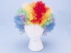 Rainbow Clown Wig - Children party costume