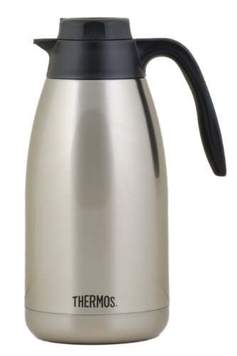 Thermos Brew In Lid Double Wall Vacuum Insulated 64 Oz. Coffee Server front-538920