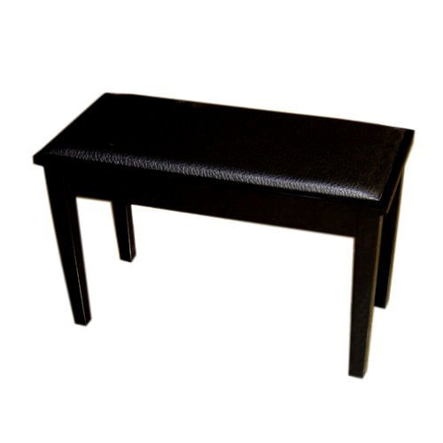 Great Deal! Cameron & Sons CS-10 EBHP-PD Piano Bench with Storage Ebony Black Padded Duet Keyboard S...