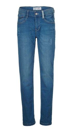 s.Oliver Jungen Jeans 61.403.71.2803, Einfarbig, Gr. 176 (HerstellergröÃYe: 176/BIG), Blau (blue denim stretch)