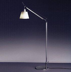 tolomeo reading floor lamp with 9 in base by artemide. Black Bedroom Furniture Sets. Home Design Ideas