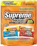 Supreme Protein Bar Carb Conscious Variety 12 x 3.4 oz. Bars