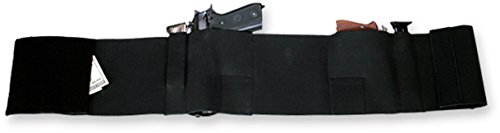 Bulldog Cases Large Deluxe Belly Wrap Holster (Fits 38-Inch - 42-Inch Waist)