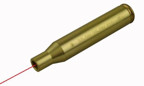 .30-06 Springfield 7.62x63mm Caliber Cartridge Laser Bore Sighter Boresighter