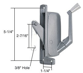 C.R. Laurence H3676 Crl Right Hand Awning Window Operator For Abc Windows front-512216