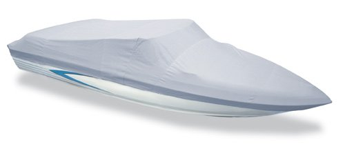 Image of Styled to Fit Boat Cover, Open Jon Boat, O/B Motor - Length:19'6