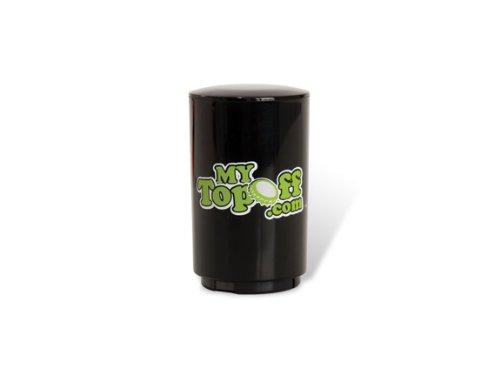 Mytopoff Single Black Push-Down Bottle Opener