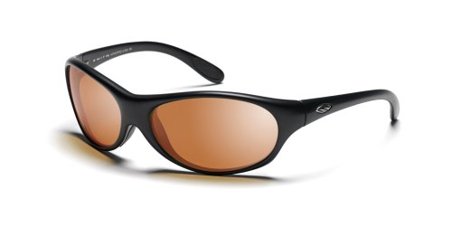Smith Guides Choice Sunglass (Black , Polarchromic Copper Mirror)