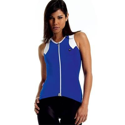 Buy Low Price Assos 2011 Women's NS.13 Lady Sleeveless Cycling Jersey – Blue – 12.22.203.20 (B002F9CAG6)