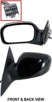 Kool Vue Ch45El Mirror Corner Mount Type Driver Side Lh Plastic Primered Power Manual Folding Heated