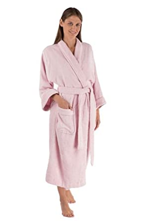 Large/X-Large) Luxury Bath Robes for Her WB0149-BPN-LXL | Amazon.com