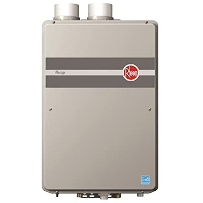 Rheem RTGH-95DVLP 9.5 GPM Indoor Direct Vent Tankless Propane Water Heater