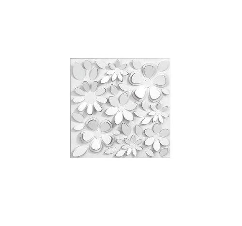 Umbra Florella Wall Decor Tiles, Set of 3