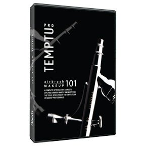 Temptu Airbrush Makeup 101 DVD Instructional Video Make-up