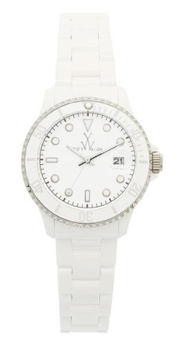 ToyWatch Plasteramic Classic Collection White Women's Watch 32008-WH