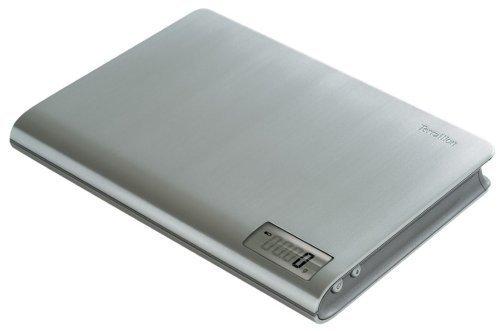 Terraillon Book 11-Pound Digital Kitchen Scale, Aluminum by Terraillon