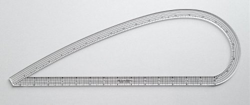 SA Curve Pattern Drafter Ruler 5/8ths Wide