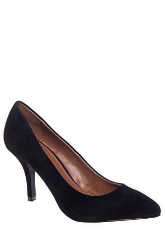 Area Pointed Toe High Heel Pump