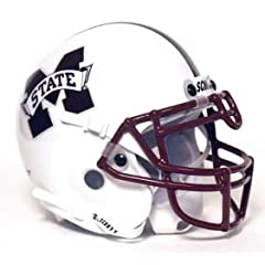 Mississippi State Bulldogs Authentic Full Size Pro Line Schutt Unsigned Helmet