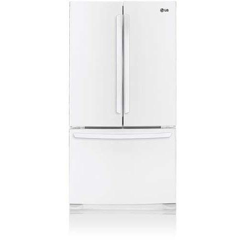 Lg Lfc25776sw 25 Cu. Ft. French Door Refrigerator / Freezer - White