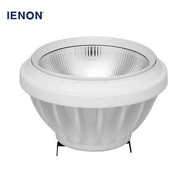 Rayshop - Ienon® Ar111 G53 15W 1200-1300Lm 3000K Warm White Light Cob Spot Lamp Light(Ac100-240V)
