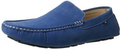 Stacy Adams Men's Vigo Slip-On Loafer,Blue,7 M US