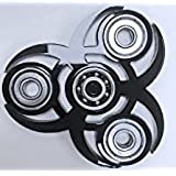 4 Gear Unique And Rare Finger Spinner | Hand Spinner || Exclusive Fidget || Spins Great || White Finger Hand Spinner... - B071WX81PD