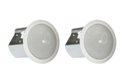 """Jbl Two-Way 4"""" Coaxial Ceiling Loudspeaker Control 14C/T (White)"""