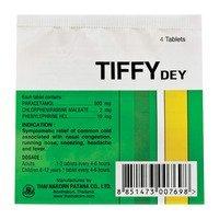 Tiffy Dey (10 Sachets of 4 Tablets Each)