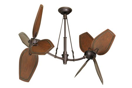 Emerson Fans CF3300ORH St Croix Indoor Ceiling Fans in Oil Rubbed Bronze W Highlights