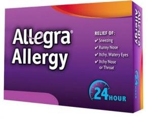 Allegra Allergy - 30 Tablets (180 Mg Each) ((2 Pack 60 Tablets))