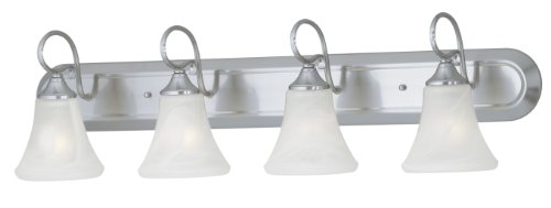 Thomas Lighting Sl7444-78 Elipse Four-Light Bath Fixture, Brushed Nickel front-81107