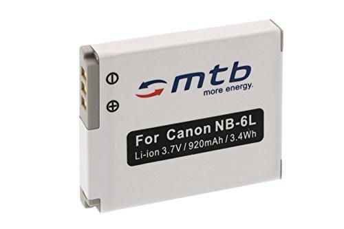 Ersatz-Akku NB-6L für Canon PowerShot SX240 HS, SX260 HS, SX270 HS, SX280 HS, SX500 IS, SX600 HS