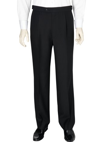 Austin Reed Black Dress Trousers SHORT MENS 36