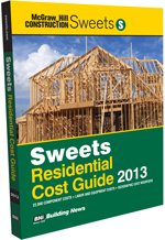 Sweets Residential Cost Guide 2013 - BNi Building News - SW-Residential - ISBN: B008NBS6LS - ISBN-13: 9781557017369