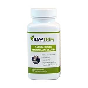 Raw Green Organics Rawtrim Sacha Inchi Mountain Blend, 0.25 Pound