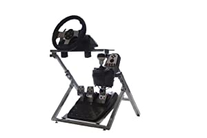 GTR GS Model Steering Wheel Stand - Racing Simulator Cockpit Gaming Stand with... by GTR Simulator
