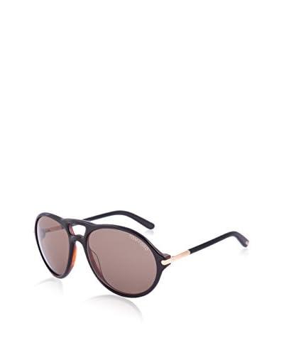 Tom Ford Women's TF245 Sunglasses, Black/Havana