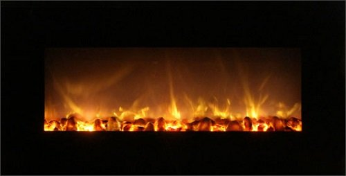 """Modern Flame Ff43-Bilv Fantastic 43"""" Electric Recessed / Wall Mounted Fireplace"""