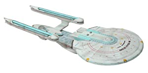 Diamond Select Toys Star Trek Electronic Battle Damaged Enterprise B Ship