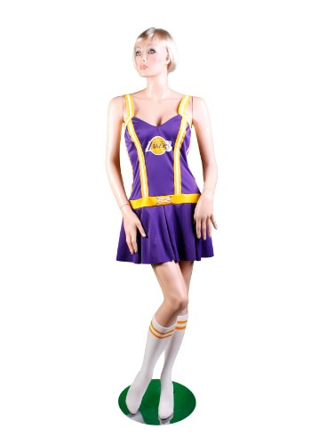 LA Lakers Cheerleader Costume - Small/Medium - Dress Size 4-8