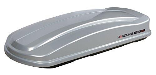 Lampa N60011 ABS BOX da Tetto, Argento Metallico