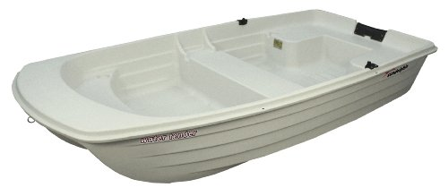 Sun Dolphin Water Tender Row Boat, 9.4-Feet