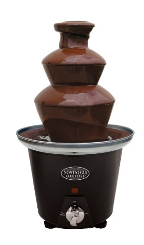 Nostalgia Electrics CFF965 Mini Chocolate Fondue Fountain
