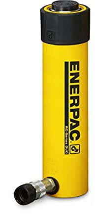 "Enerpac RC-256 Single-Acting Alloy Steel Hydraulic Cylinder with 25 Ton Capacity, Single Port, 6.25"" Stroke"