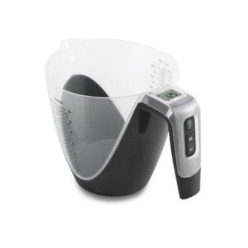 STADTER - 853096 - Pichet mesureur - Balance de cuisine digitale Noire