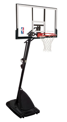 "Spalding 66291 Pro Slam Portable Basketball System with 54"" Acrylic Backboard"